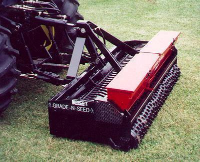 grass seeder machine rental